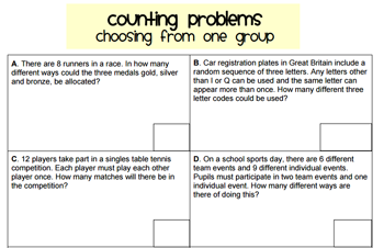 Systematic Listing \u0026 The Product Rule for Counting