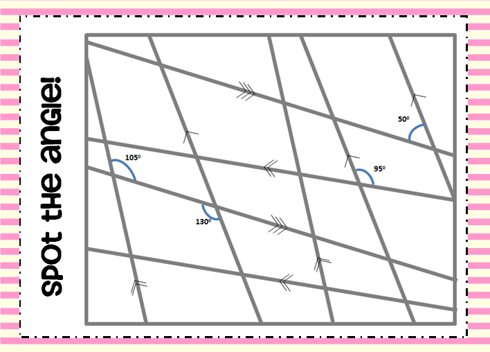 Angles – Finding Missing Angles Worksheet